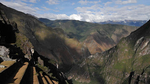 Incan Valley Stock Video Footage