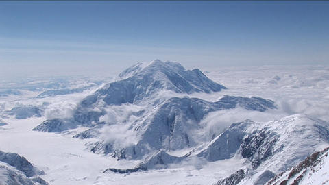 Denali's wife/Mount Foraker from Denali Footage