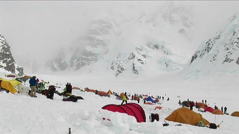 Basecamp at Denali Footage