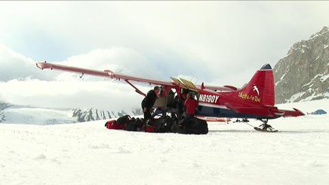 Plane starting of tarmac Footage