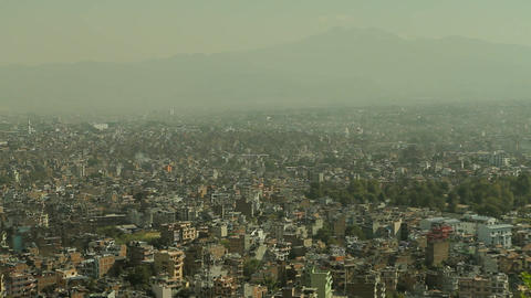 Static shot of Kathmandu Stock Video Footage