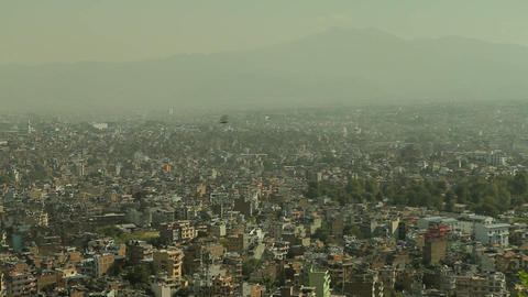 Static shot of Kathmandu Footage