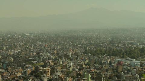 Static shot of Kathmandu Stock Video Footage
