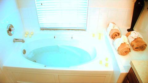 SPA BATH 1 Stock Video Footage