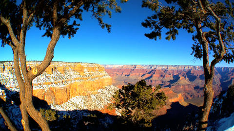 Panoramic views of Grand Canyon,Arizona Footage