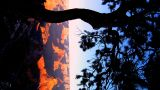 Vertical Timelapse Sunrise Over The Grand Canyon Arizona stock footage