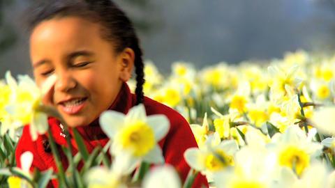 Girl Singing Stock Video Footage