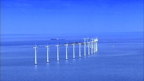 Collection/selection of commercial images for renewable energy production Footage