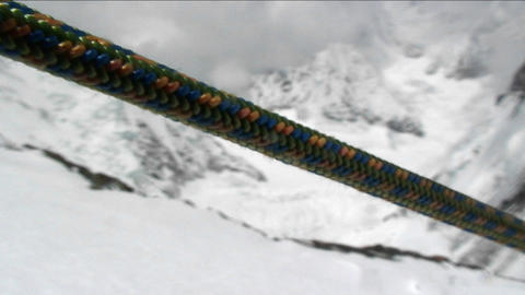 Close-up of rope Stock Video Footage