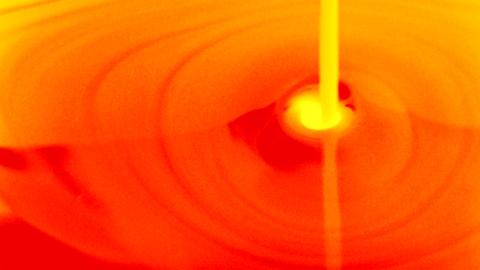 molten flow 01 Stock Video Footage