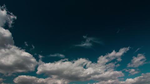 Cloudscape Timelapse Stock Video Footage