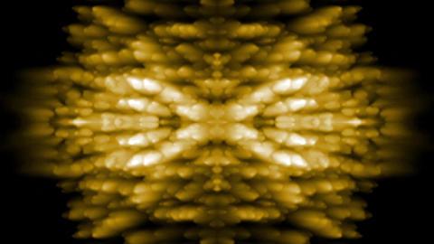 oriental golden religion flower smoke pattern,Buddhism... Stock Video Footage