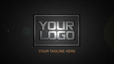 metal logo reveal After Effects Template