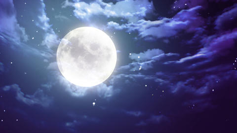 Halloween Moon stock footage