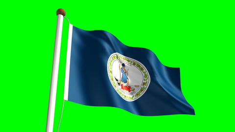 Virginia flag Animation