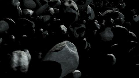 Asteroid Field Animation