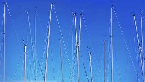 yacht masts Footage