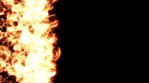 fire for transition 001 Stock Video Footage