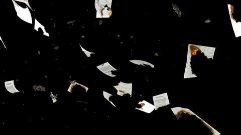 燃える紙 Animation