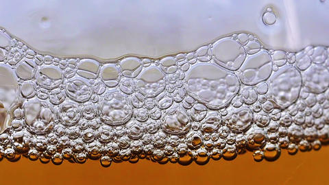 Beer bubbles HD Footage