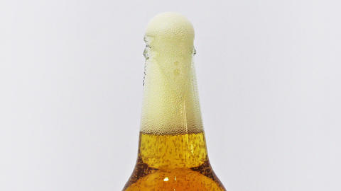 Freshly Opened Beer stock footage