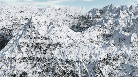 Mountain Range 1 Stock Video Footage