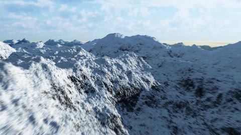 Mountain range 3 Stock Video Footage