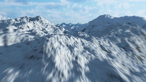 Mountain range 3 Animation