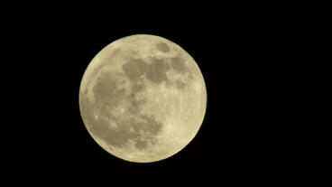 2012 Supermoon Large Bright Moon 30P Stock Video Footage