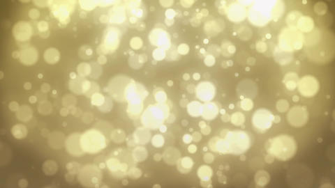 Gold Particles, Loop Stock Animation Animation