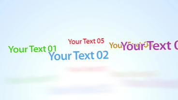 Rotative Texts - Apple Motion and Final Cut Pro X Template Apple Motion Project