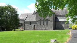 Ballintubber Abbey B Stock Video Footage