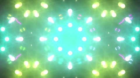 Disco Wall SN A 1c HD Stock Video Footage