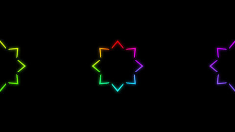 Disco Wall SN A 2g HD Stock Video Footage