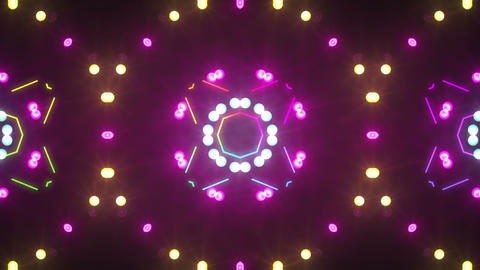 Disco Wall SN A 3g HD Stock Video Footage