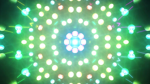 Disco Wall SN A 4a HD Stock Video Footage