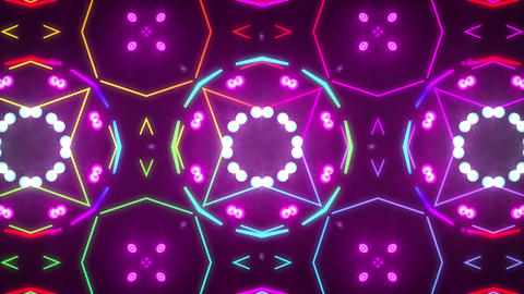 Disco Wall SN A 7a HD Animation