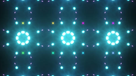 Disco Wall SN A 7g HD Stock Video Footage