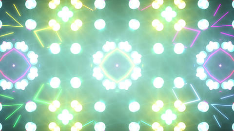 Disco Wall SN A 8a HD Stock Video Footage