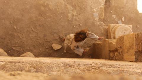 The gladiator slave women fugitive oppressed histo Stock Video Footage
