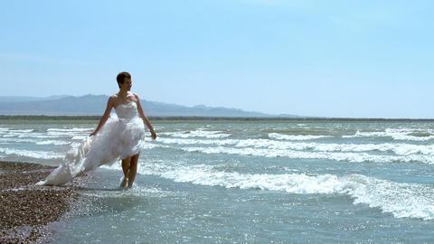 Honeymoon at Sea Stock Video Footage