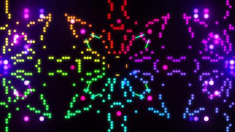 Disco Wall SN B 1b HD Stock Video Footage