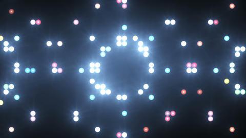 Disco Wall SN B 1h HD Stock Video Footage