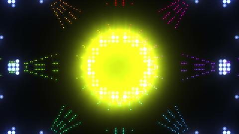 Disco Wall SN B 2b HD Stock Video Footage