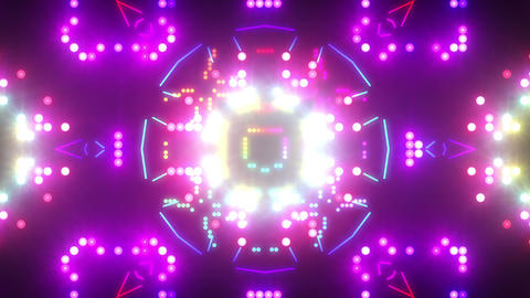 Disco Wall SN B 3d HD Stock Video Footage