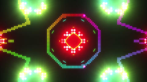 Disco Wall SN B 4d HD Stock Video Footage