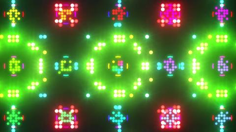 Disco Wall SN B 5b HD Stock Video Footage
