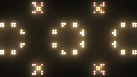 Disco Wall SN B 5f HD Stock Video Footage
