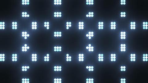 Disco Wall SN B 5h HD Stock Video Footage