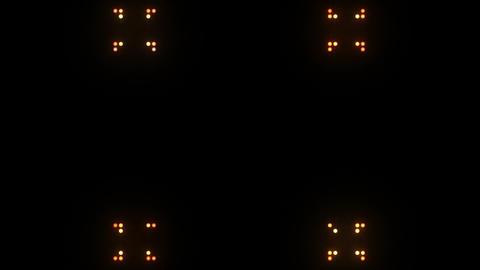 Disco Wall SN B 6b HD Stock Video Footage